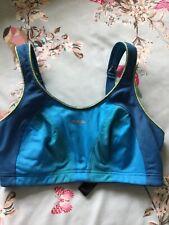 Shock Absorber Ladies Bra Size 34DD Blue
