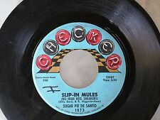 BLUES 45: SUGAR PIE DE SANTO Slip-In Mules (No High Heel Sneakers)/Mr. & Mrs.