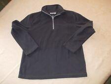 alive Fleece-Shirt dunkel grau langer Arm Gr. 140
