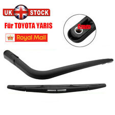 FOR TOYOTA YARIS 99-05 JAPAN BUILT REAR WIPER  ARM & BLADE WINDSCREEN NEW