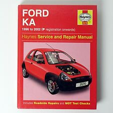 Haynes Ford Ka Service and Repair Manual (Hardback, 2002) 1996 - 2002 #3570