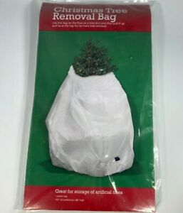 """Large CHRISTMAS TREE  REMOVAL BAG  *  Fits up to 6 Feet Tall  * 144"""" x 85""""  NEW"""