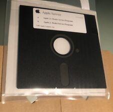 """Vintage Apple II II+ Dealer Diagnostic Floppy Disk Apple 2 Test Disk 5.25"""" 5-1/4"""
