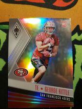 2017 Panini Phoenix #195 Rookie Refractor George Kittle 49ers