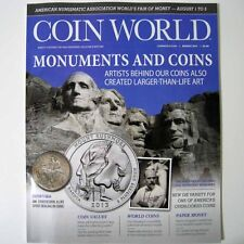 COIN WORLD Magazine August 2017 - Monuments And Coins - New