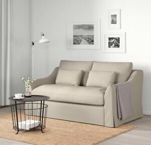 NEW IKEA FARLOV LOVESEAT COVER SLIPCOVER Flodafo BEIGE 603.066.82
