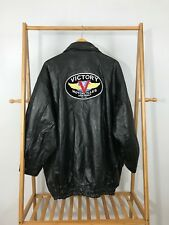 Napoline Leather Outfitters Victory Motorcycles Polaris AC/DC Leather Jacket 5X