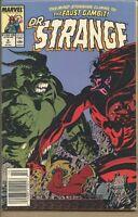 Doctor Strange Sorcerer Supreme 1988 series # 8 UPC code near mint comic book