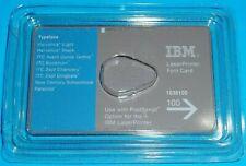 NEW OLD STOCK IBM LASER PRINTER FONT CARD 1038100
