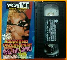WCW/nWo - Diamond Dallas Page: Feel the Bang VHS NWA AWA WWE/WWF DDP Yoga
