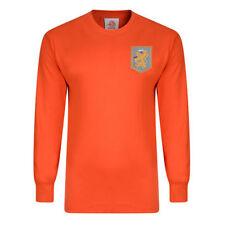 Camiseta de fútbol para hombres naranja