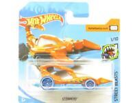 Hotwheels Scorpedo Orange Street Beasts 185/365 Short Card 1 64 Scale Sealed New