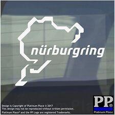 Nurburgring Sticker-Car,Van,Window Sign-Race Racing Track - 112mm x 87mm