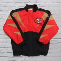 Vintage 90s San Francisco 49ers Parka Jacket by Apex One Size S Niners