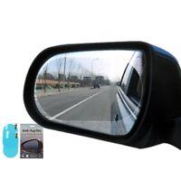 2x Car Anti Water Mist Film Anti Fog Rainproof Rearview Mirror Protective Film
