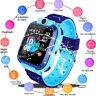 Waterproof Kids Smart Watch Anti-lost Safe GPS Tracker SOS Call pw