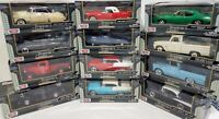 Motor Max American Classics Die Cast 1:24 Scale Select your Favorite FORD CHEVY