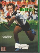 Sports Illustrated ~Sept 17, 1984~John McEnroe~US Open Champ~Complete Magazine