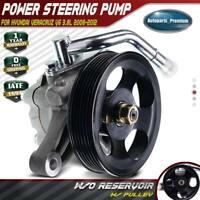 Power Steering Pump w/ Pulley for Hyundai Veracruz V6 3.8L 2008-2012 571003J010