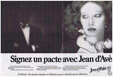 PUBLICITE ADVERTISING 114 1978 JEAN D'AVEZE signez un pacte  (2 pages)