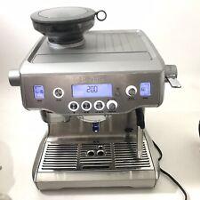 Breville Oracle BES980XL Dual Boiler Espresso Machine Built in Grinder
