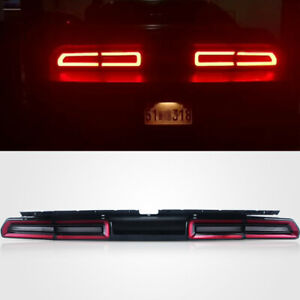 VLAND Red Tail Lights Lamps For 2008-2014 Dodge Challenger Sequential Indicator