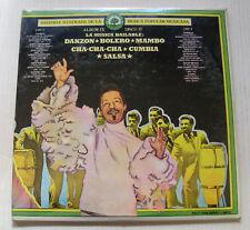 various BOLERO MAMBO CUMBIA SALSA historia musica mexicana IX 2LP SEALED