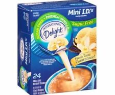 International Delight Sugar Free French Vanilla Coffee Creamer Travel Individual