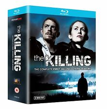 The Killing (U.S Version) - Complete Seasons 1-3 Blu Ray Boxset (9 discs)-Sealed