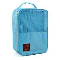 Portable Waterproof Travel Shoe Bag Beach Foldable Pouch Shoe Storage Organizer