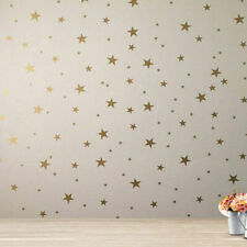124PCS Home Room Gold Star Wall Stickers Vinyl Decal for Baby Nursery Kids Decor