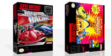 Rock n Roll Racing SNES Replacement Game Case Box + Cover Art work (No Game)