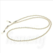 Imitation Pearl Beaded Eyeglass Spectacle Glasses Chain Neck Holder Cord Lanyard