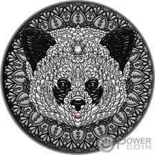 PANDA Mandala Art 2 Oz Silver Coin 5$ Niue 2021