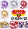 12'' Metallic Latex Chrome Balloons Helium Wedding Birthday Party Decor