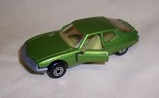 """Matchbox"" Superfast Sf-51 Citroen Sm Metallic Green Body Made In Bulgaria Mint"