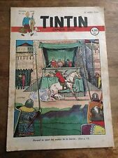 JOURNAL TINTIN Belge 13 (1947) couv Laudy RARE BD ancienne
