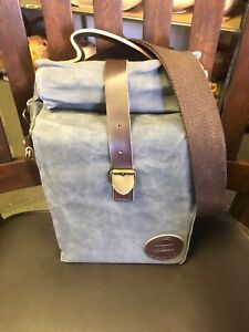ASSEBO Insulated Waxed Canvas Lunch Bag