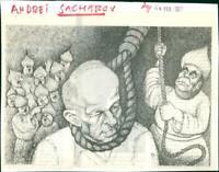 Andrei Sakharov, Professor, Nuclear physicist - Vintage photograph 2584594