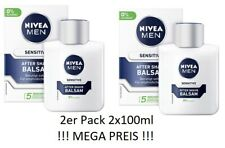 Nivea Men Sensitive After Shave Balsam 2er Pack 2x100ml NEU OVP !! MEGA PREIS  !