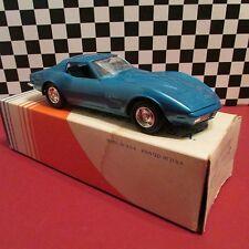 1973 Chevrolet Corvette,1/25 scale Dealership promotional model car,MINT!