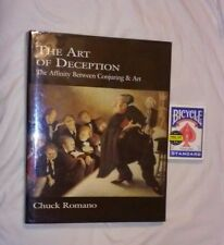 CHUCK ROMANO ART OF DECEPTION FIRST SIGNED NUMBERED ED - STERANKO TARBELL HAHNE