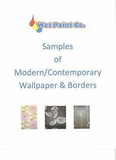 Samples of Modern/Contemporary Wallpaper or Border in Wet Paint Company Store