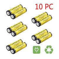 10PCS GARBERIEL 14500 (AA) 3.7V 1200mAH Li-ion Lithium Rechargeable Battery USA