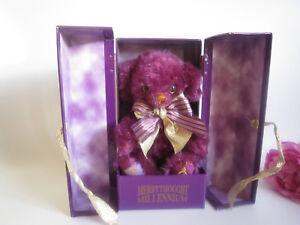 Merrythought Millennium Cheeky mohair bear in box. Ltd. Rare. Mint.