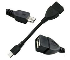 Micro USB Host to USB Cable OTG Adapter for Samsung Galaxy Google Nexus HTC Sony