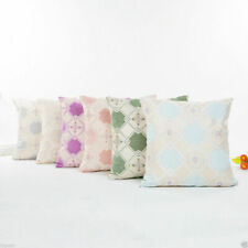 Square Cotton Linen Sofa Waist Throw Pillow Case Cushion Cover Home Decor 45x45
