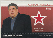 2011 Topps American Pie Vincent Pastore/Big Pussy Swatch Card
