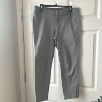 Womens Stretch Gray Old Navy Pixie Pants Size 10 Regular