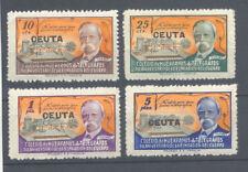 GALVEZ 56/59 ** BENEFICENCIA 1945 XC ANIVERSARIO CUERPO TELEGRAFOS CEUTA TC12179